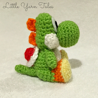 Ravelry: Yoshi-Inspired Amigurumi pattern by Elysia McWatters
