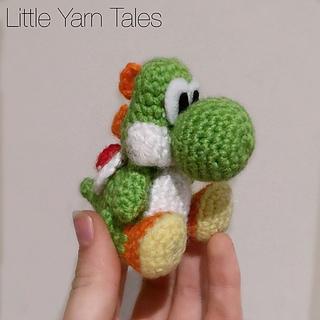 Ravelry: Yoshi-Inspired Amigurumi pattern by Elysia McWatters