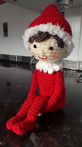 Knitting Pattern For Elf On The Shelf : Ravelry: Elf on the Shelf pattern by Sydney Duenas