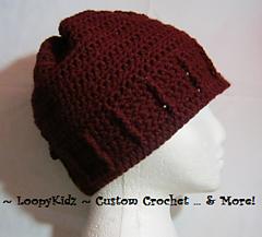 Ravelry: Womens Crochet Ponytail Hat pattern by Megan Jackson