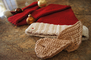 Ravelry: Crocheted Classic Santa Elf Hat with Elf Ears ...