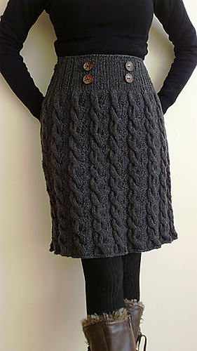 Ravelry Winter Twist Skirt Pattern By Romy Kremers