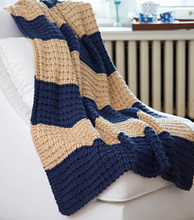 Ravelry: Easy Breezy Afghan pattern by Caron Design Team