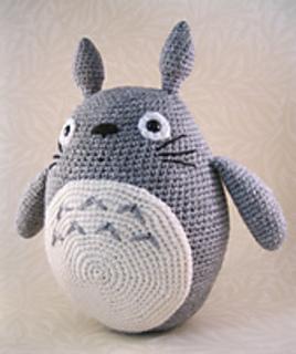 Ravelry: Grey Totoro Amigurumi pattern by Lucy Collin