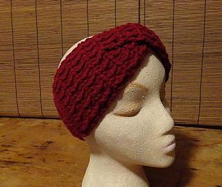 Ravelry Twisted Band Crochet Turban Earwarmer Pattern By