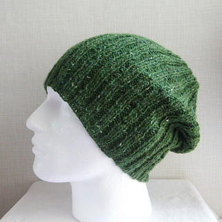 Knit Beanie Pattern Ravelry : Ravelry: Seattle Slouch Beanie for Men,Women and Teens Knit Round pattern by ...