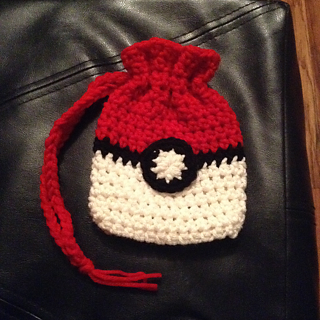 Ravelry Pokemon Inspired Card Deck Bag Pattern By