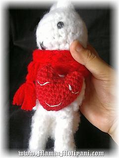 Ravelry: Baby Crochet Heart Amigurumi Pattern For ...