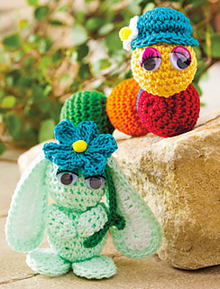 Crochet Amigurumi Made Easy Magazine : Ravelry: Amigurumi Friends pattern by Agnes Russell