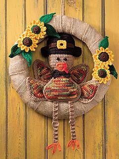 Ravelry: Mr. Turkey Wreath pattern by Kenneth Cormier