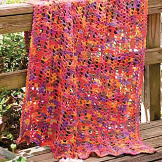 Ravelry Sunset Throw Pattern By Katherine Eng