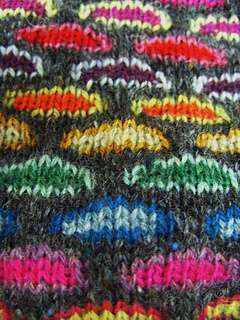 Slip Stitch Knitting Patterns Free : Ravelry: Slip Stitch Knitting Bag pattern by Sabine Wosmann