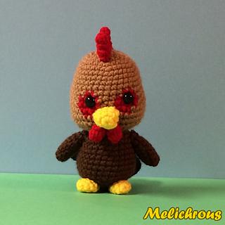 Ravelry: Ruffles the Rooster Pattern Crochet Amigurumi PDF ...