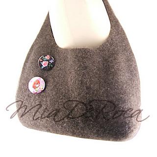 Knitting Pattern Hobo Bag : Ravelry: Knitting Pattern Felted Hobo Bag