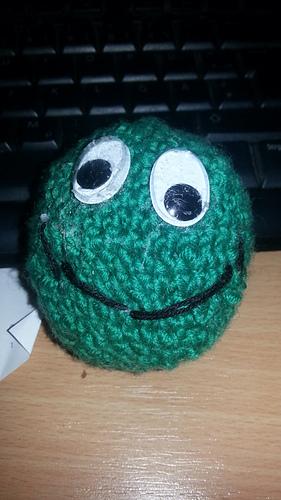Amigurumi Big Ball Pattern : Ravelry: Basic Beginner Amigurumi Smiley Face Ball pattern ...