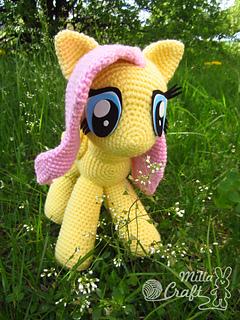 Amigurumi My Little Pony Pattern : Ravelry: Fluttershy from My Little Pony pattern by Milla Craft