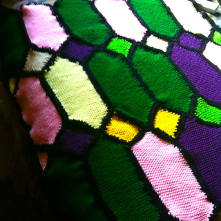 Ravelry: Stained Glass Afghan (Knit) pattern by Susan Levin