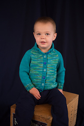 Kid's Block Cardigan PDF