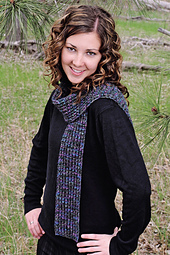 Twisted Lace Scarf PDF