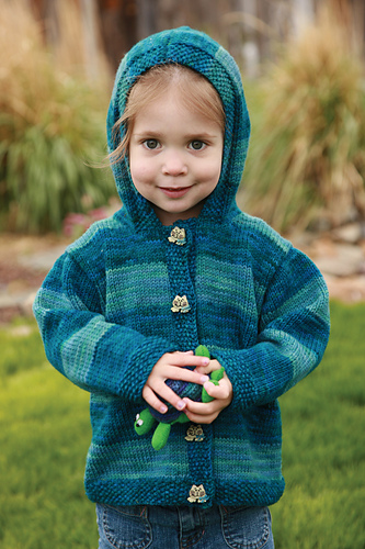 Back to Basics Kid\'s Cardigan PDF