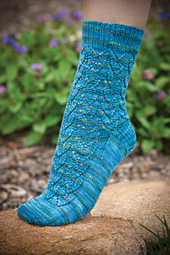 Lacey Hearts Socks PDF