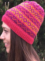 Snowline Fairisle Hat PDF