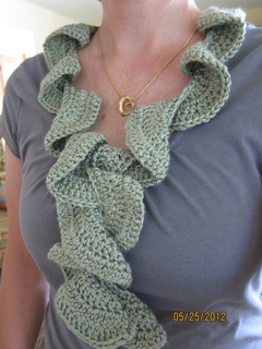 Free Crochet Pattern For Potato Chip Scarf : Ravelry: Potato Chip Scarf pattern by Lion Brand Yarn
