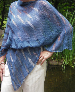 Willow Leaf Knitting Pattern : Ravelry: Willow and Willow Leaf pattern by Jeanne C Abel