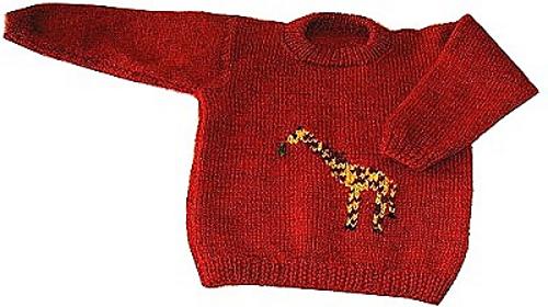 Knitting Pattern For Giraffe Sweater : Ravelry: Giraffe Sweater pattern by Nazanin S. Fard