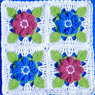 毯子——爱的花朵 - maomao - 我随心动