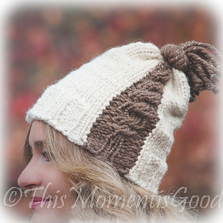 Loom Knit Cable Stitch Hat : Ravelry: Cable Express Hat pattern by Nicole F. Cox