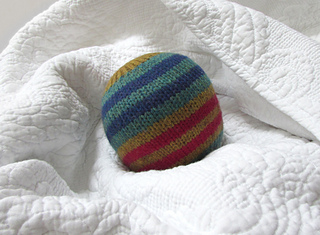 Knitting Pattern For Wool Dryer Balls : Ravelry: Knitted Felt Dryer Ball pattern by Over the Rainbow Yarn Designs