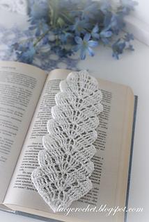 Ravelry Crochet Leaf Bookmark Pattern By Olga Poltava