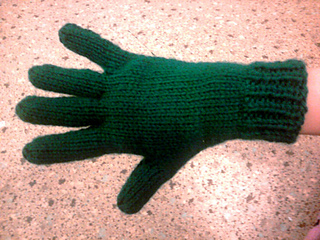 Knitting Pattern For Childrens Gloves With Fingers : Ravelry: Bryannas Two Needle Gloves pattern by Bryanna ...