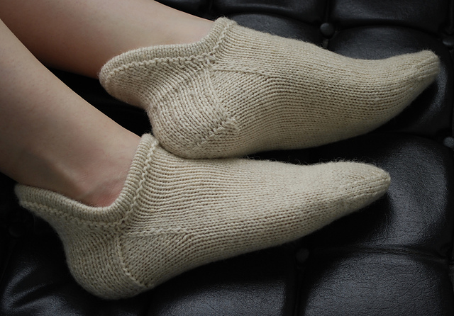 Chaussons Pierogi Slipper Socks par Sarah Jordan