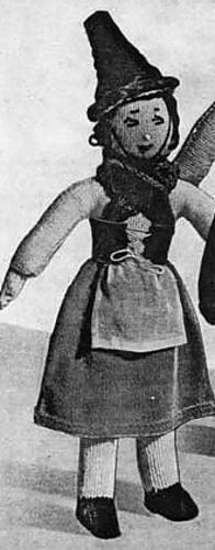Ravelry: Welsh Girl Doll pattern by Finella