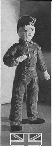 Ravelry: Soldier Doll pattern by Finella