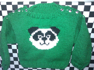 Knitting Pattern Panda Jumper : Ravelry: Panda Jumper pattern by Kirstie McLeod