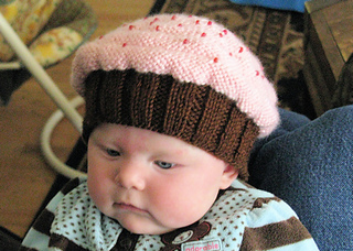 Knitting Pattern For Baby Cupcake Hat : Ravelry: Cupcake Hat pattern by Alicia Lutz