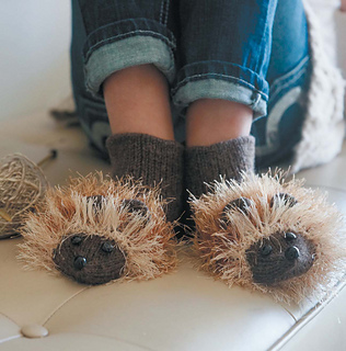Hedgehog Slippers Knitting Pattern : Ravelry: Hedgehogs pattern by Mary Scott Huff