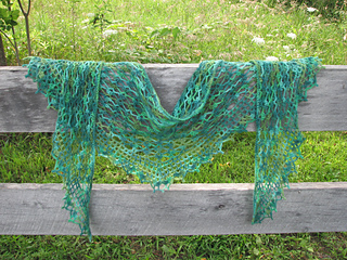 Ravelry: Summer Sprigs Lace Scarf pattern by Esther Chandler