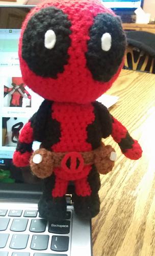 Amigurumi Crochet Dress Pattern : Ravelry: Deadpool Amigurumi pattern by Sheridan Amb