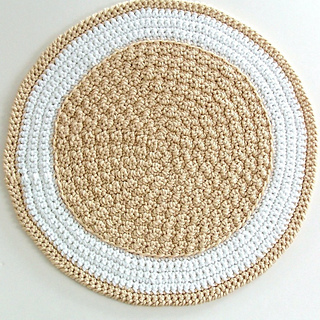 Ravelry: Round Crochet Rug - A Quick to Stitch Project ...