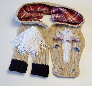 Ravelry: Horse Lovers Knit Scarf pattern by Sue Green