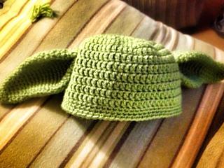Ravelry Crochet Yoda Hat Pattern By Teri Heathcote
