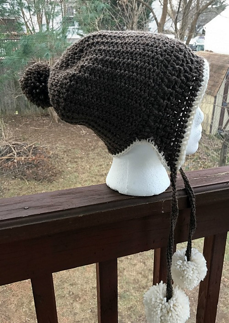 2f7a88e2108 I love everything about this cute crochet slouch hat pattern