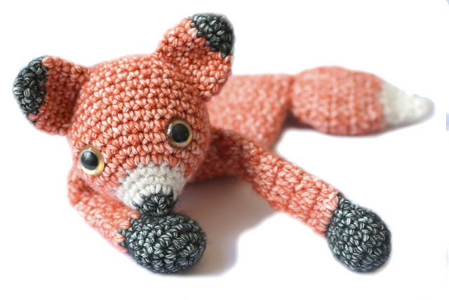 Baby Fox mini Ragdoll par A la Sascha