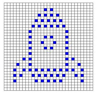 Ravelry Rocket Bobble Chart Pattern By Kari Philpott