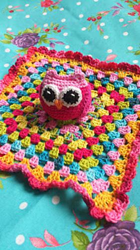 Ravelry Owl Baby Blanket Pattern By Lolalshooked