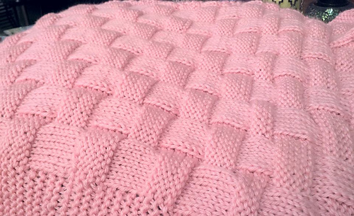 Ravelry: Realistic Basket Weave Knit Pattern - Baby ...